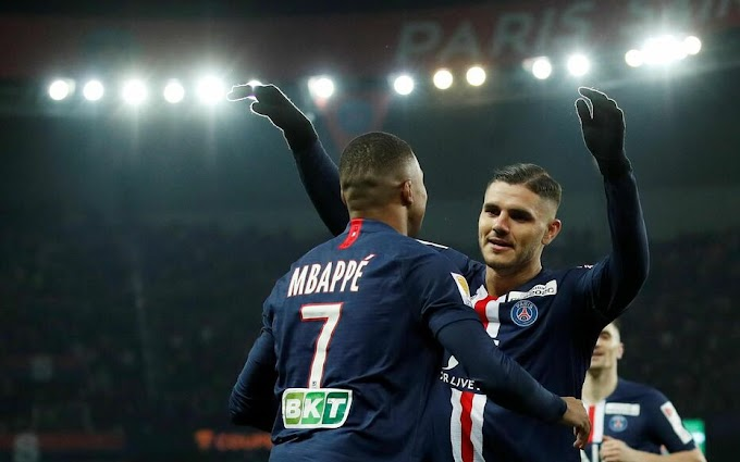 VIDEO: Paris Saint Germain 6:1 Saint Etienne / Coupe de la ligue