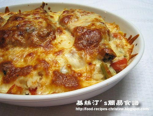 焗豬扒飯-Baked-Pork-Chops-with-Rice