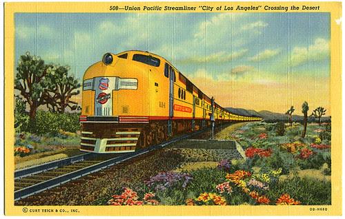 Union Pacific Streamliner City of Los Angeles_tatteredandlost