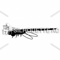 トンボシルエット イラストの無料ダウンロードサイトシルエットac