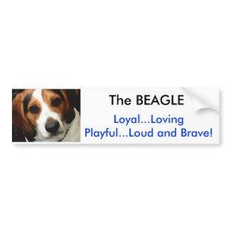 The BEAGLE Bumper Sticker