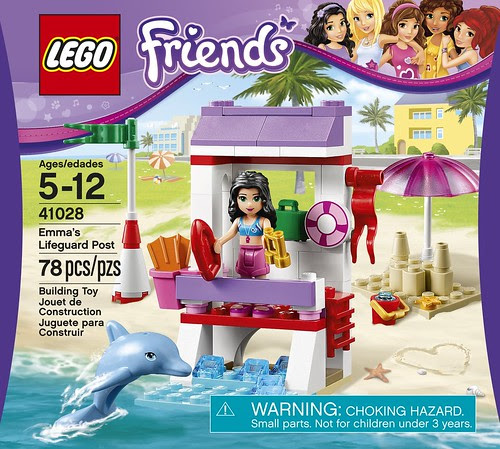LEGO Friends Emma's Lifeguard Stand 41028