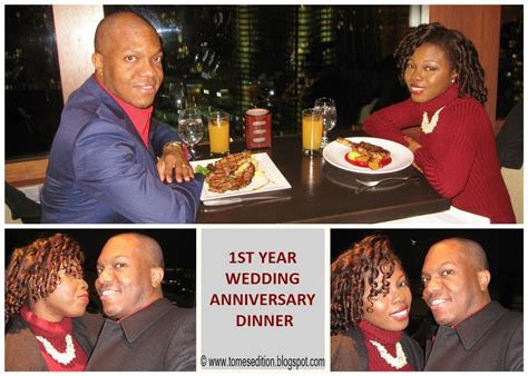 Tomes Edition: Our 1st Wedding Anniversary