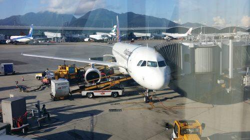 今日の飛行機 A320