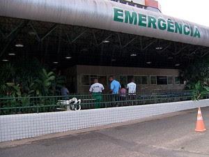 HGE funciona em dia de protesto em Salvador (Foto: Imagem/ TV Bahia)