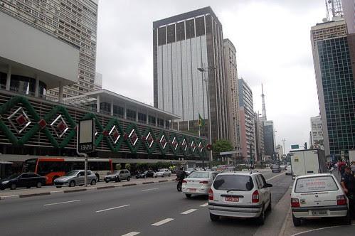 Hier ist das neue kommerzielle Zentrum von Sao Paolo