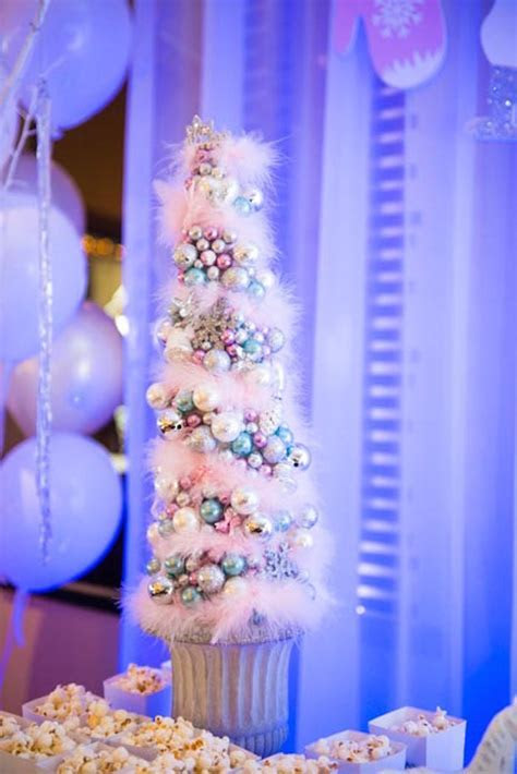 Kara's Party Ideas Pastel Winter ONEderland Themed