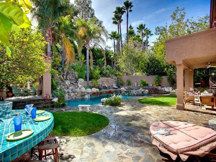 Tropical Backyard Landscape Ideas