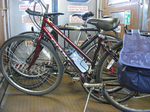 3 bikes on board