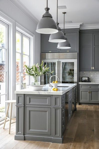 66 Gray Kitchen Design Ideas Decoholic