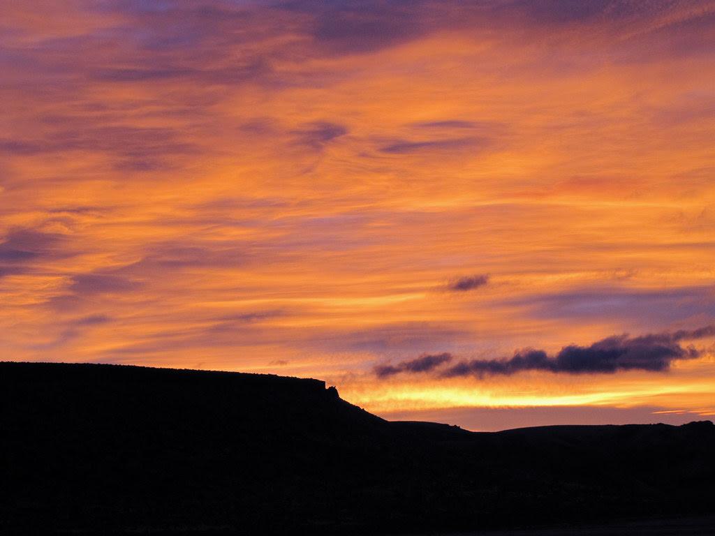 Hat Butte Sunrise