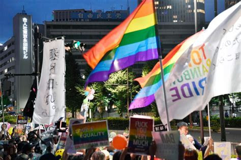Same sex couples in Japan sue for equal marital rights