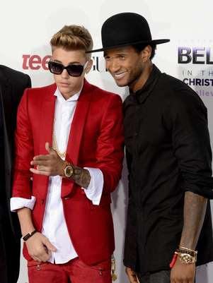 Os cantores em première de documentário, em dezembro Foto: Getty Images