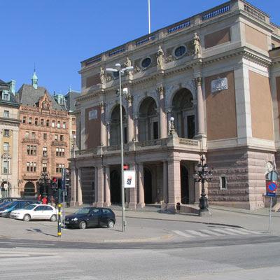 Opera theatre in Stockholm