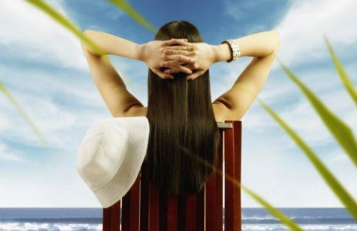 Get Beach Ready for Summer - Woman at the Beach