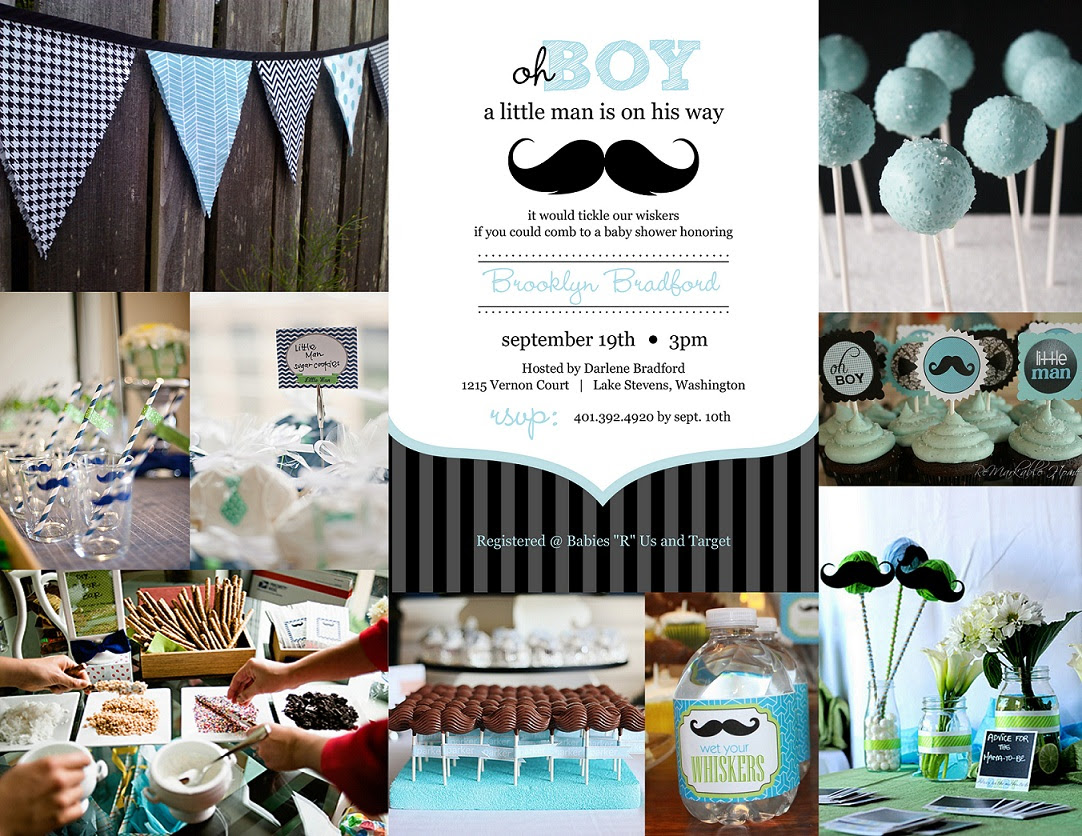 Check out Mustache-themed party invitations!