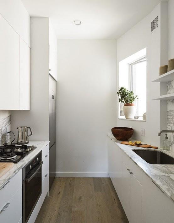 Small But Smart Minimalist Kitchen Design - DigsDigs