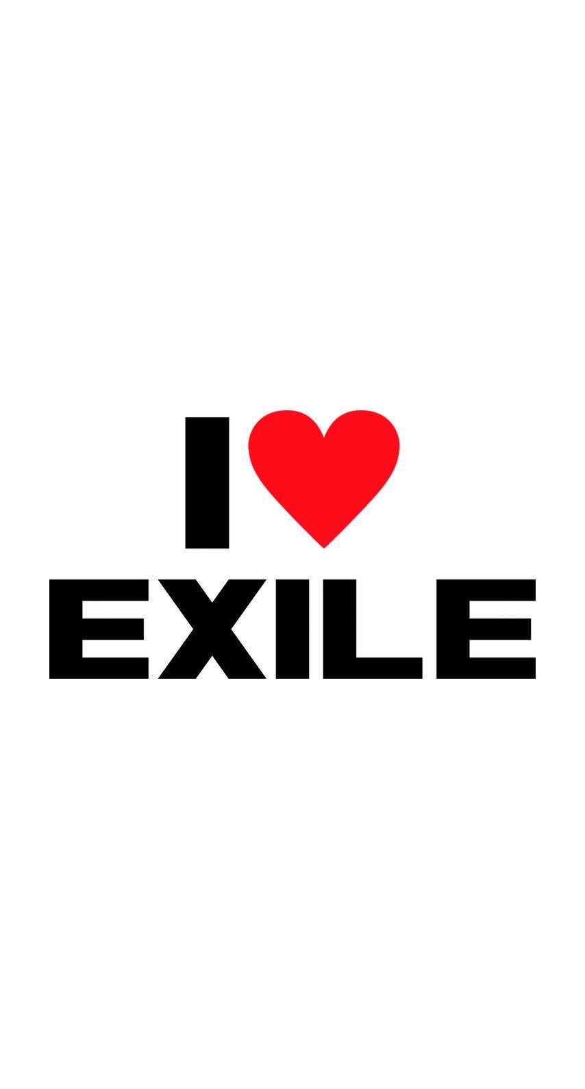 Exileファンにおすすめ I Love Exile めちゃ人気 Iphone壁紙dj