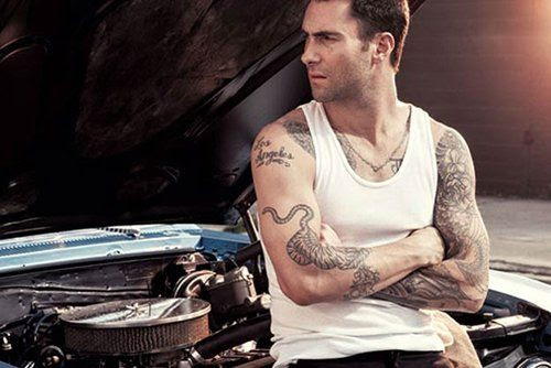 Inked - September 2012, Adam Levine