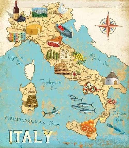 Road Map Of Italy In English.Maps Of Italy Detailed Map Of Italy In English Tourist Map Of Italy