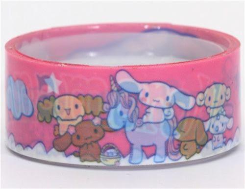 Hello Kitty deco tape Cinnamoroll unicorn kawaii - accessories and ...