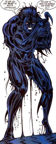 Aquaman in Oil Spill