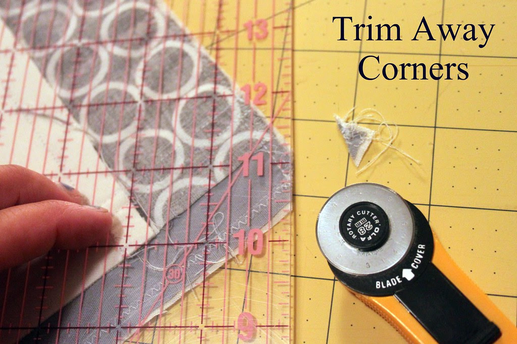 trim away corners
