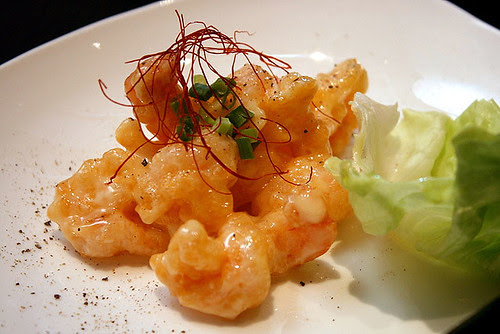 Ebi Mayonnaise - Deep-fried prawn with mayo sauce