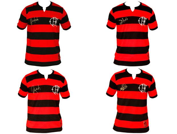 camisa comemorativa Flamengo tri craques