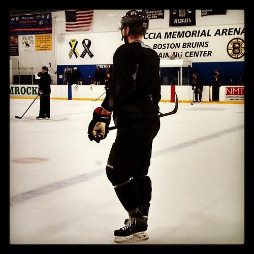 Dougie Hamilton @nhlbruins practice #27 #bruins #BostonStrong #NewportCT #Dougie