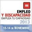 Feria de Empleo para Personas con Discapacidad, 13 y 14 de noviembre