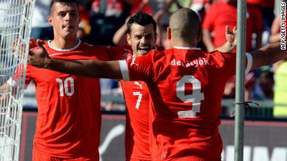 Football: Switzerland humble Germany