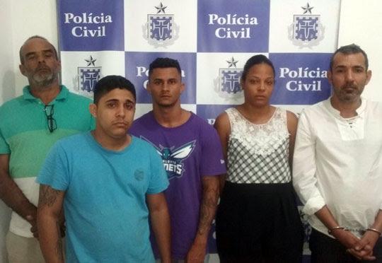Filho de ex-prefeito de Santaluz é preso dentro de banco em Salvador junto com quadrilha acusada de estelionato