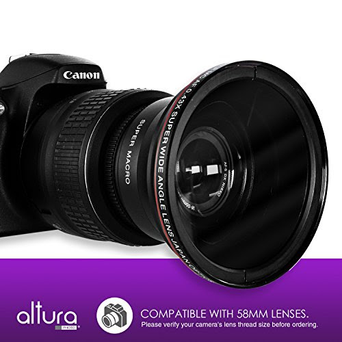 Lens Conversion Altura Photo Wide Angle 043x