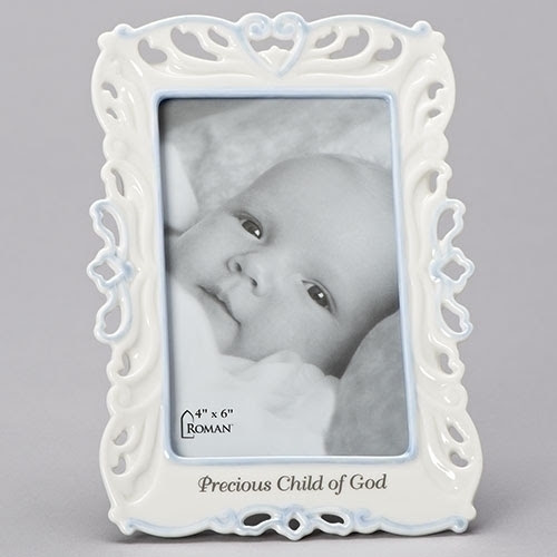 85h Godchild Frame Holds 4x6 Photo