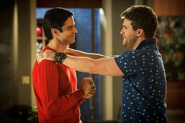 Mateus Solano (Felix) e Thiago Fragoso (Niko) em amor à vida