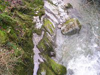 Photo by Sheila Webber: Stockghyll waterfall, Ambleside, January 2007