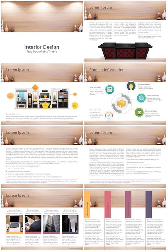 Interior Design Powerpoint Template Free