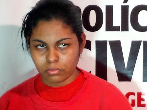 Mãe que confessou morte de filho diz que foi acidente (Foto: Raquel Freitas/G1)