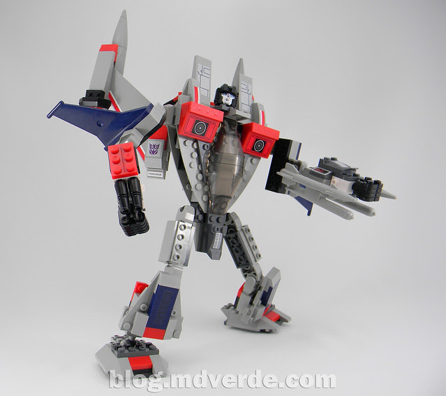 Transformers Starscream - Kre-O - modo robot