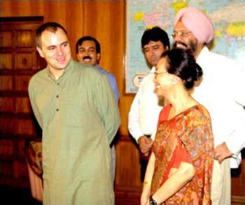 rediff.com: Omar Abdullah takes charge as MoS in external
