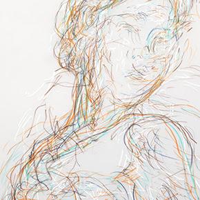 Angel Agrela. Dibujo 5 Intimiti, Material Galería