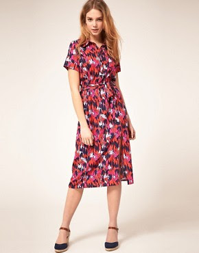 Image 4 of Vero Moda Midi Dress In Carousel