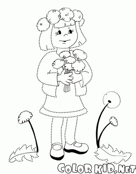 disegni da colorare festa della donna