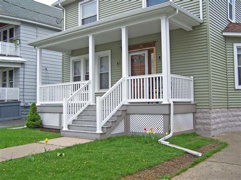 vinyl porch vinyl railing  porch columns pictures