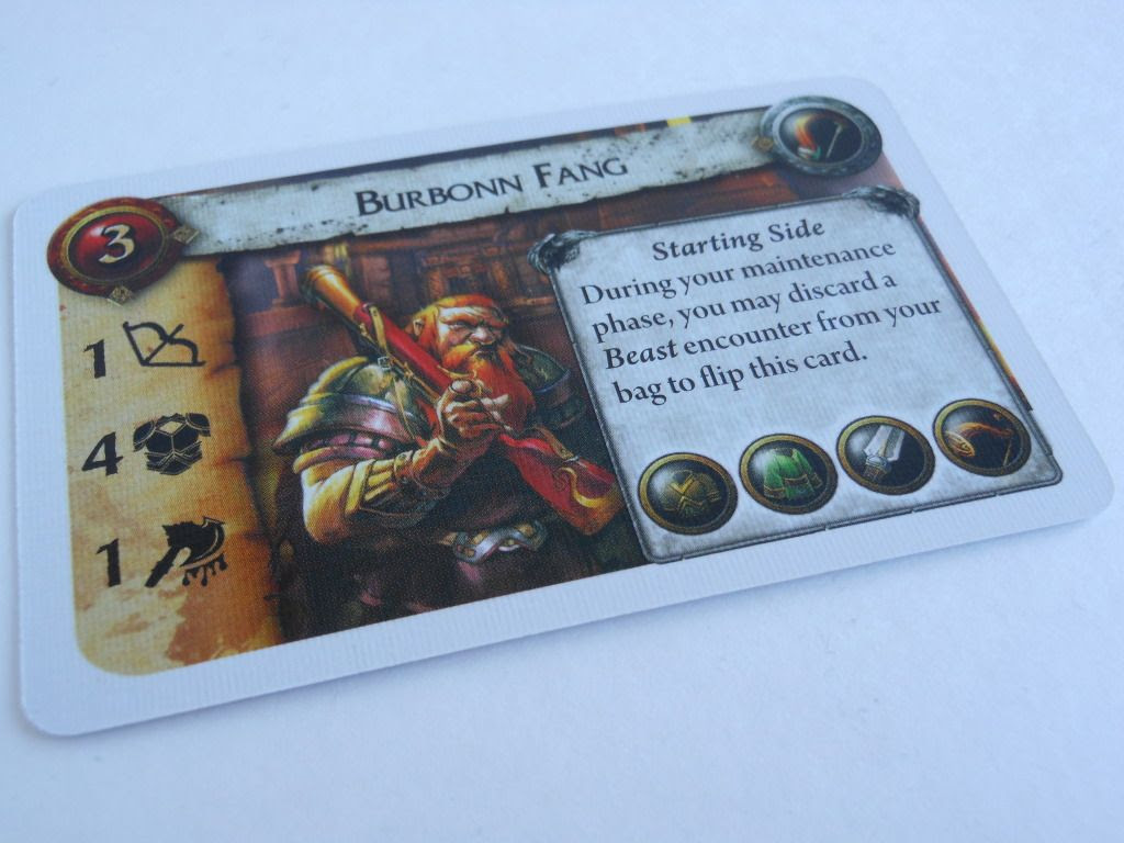 World of Warcraft: The Adventure Game character card
