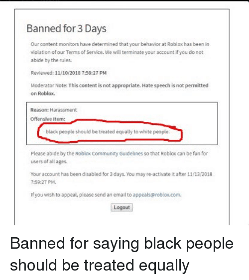 Banned Moderators In Roblox