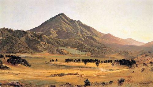 Mount Tamalpais From San Rafael