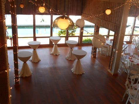 Marina Village Weddings   Patty's Linen Rentals