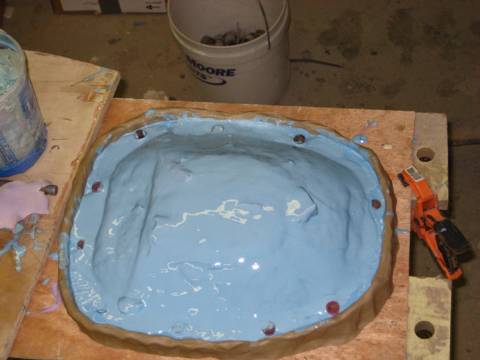 Buttplate Molded